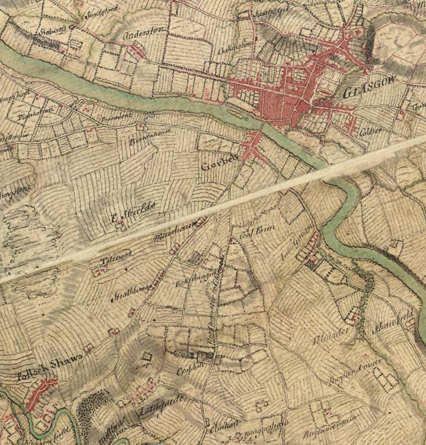 1747-1755 William Roy's Military Map of Scotland