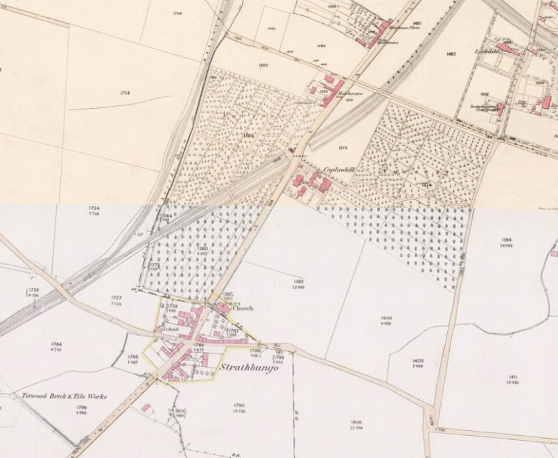 Strathbungo Map 1858