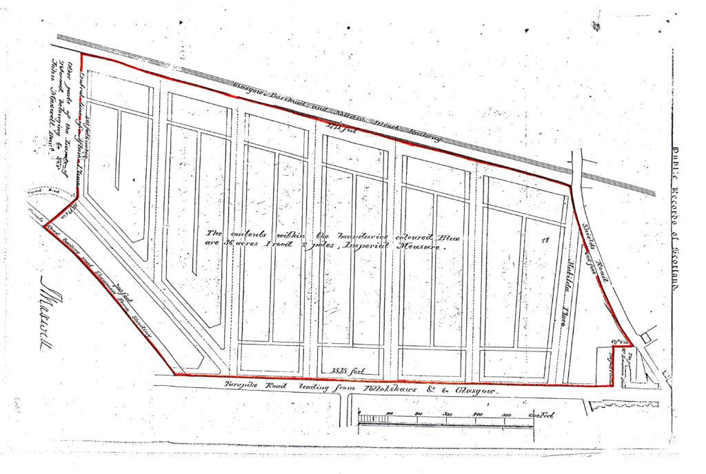 1859 Strathbungo Feuing Plan