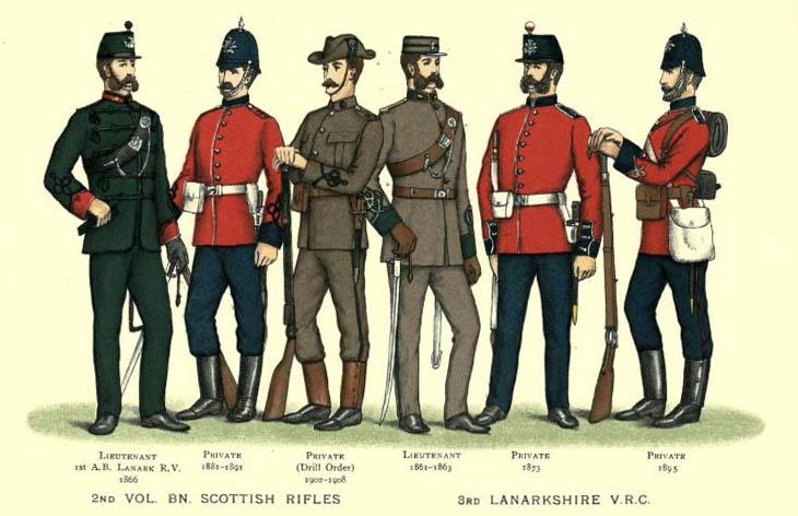 3rd LRV uniforms
