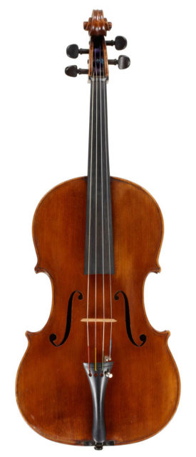 Cello by James Briggs, 1924