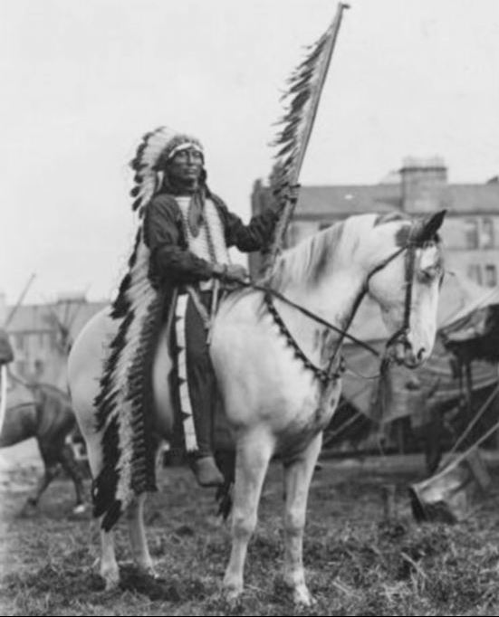 """Red Indian"" in Glasgow 1904"