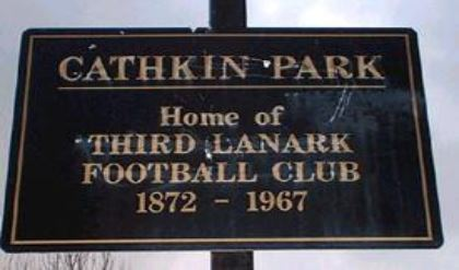 Cathkin Park sign