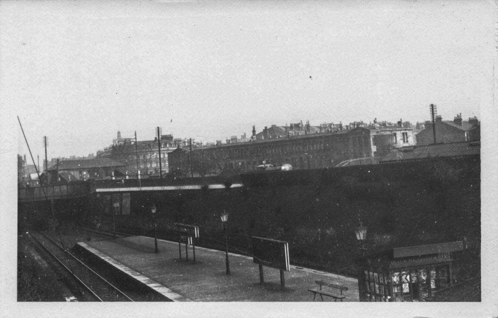 Moray Place and Strathbungo Station from Pollokshields West