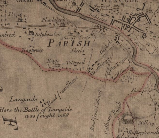 Shire of Lanark. Charles Ross. 1773