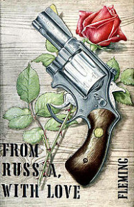 Cover of first edition, From Russia With Love.