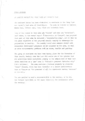 1971 Press release