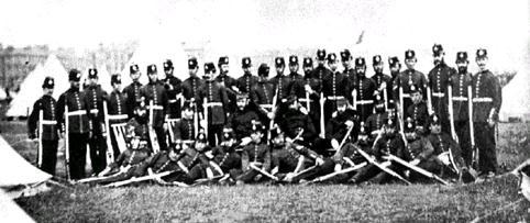 3rd LRV Camp, Queens Park, 1873