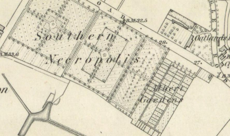 Albert Gardens, 1858