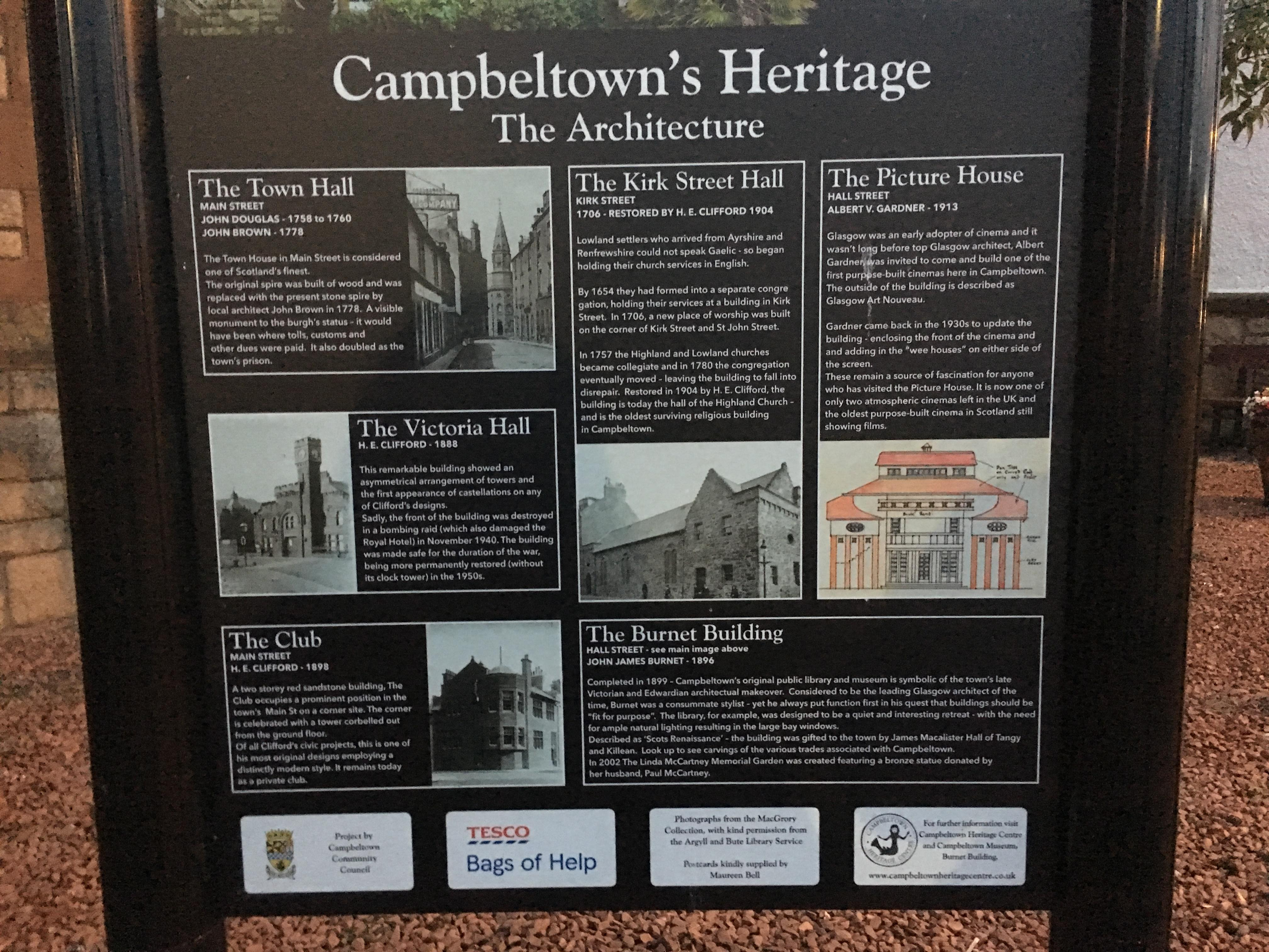 The Picture House, Campbeltown | Bygone Bungo