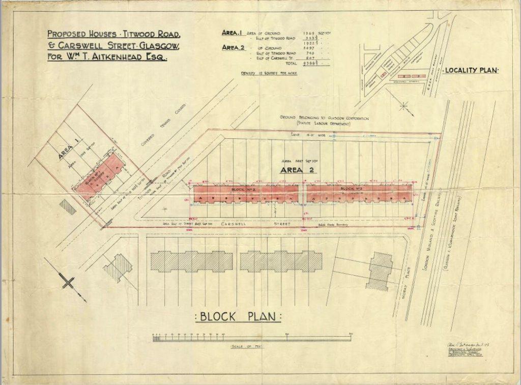 Carswells Gardens Plan