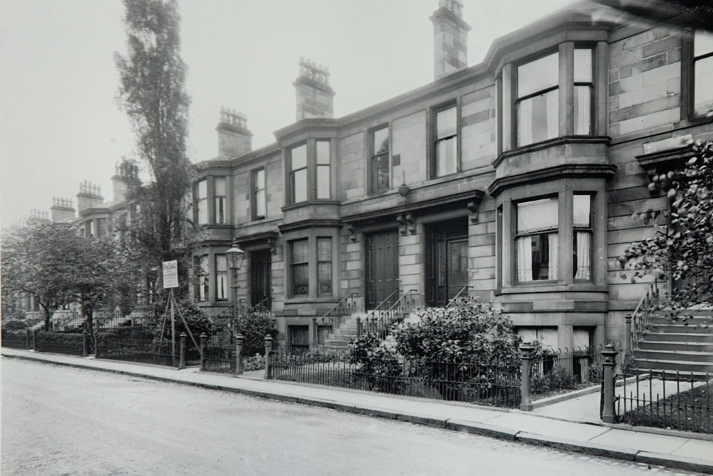 Queen Square, South Side, c 1924