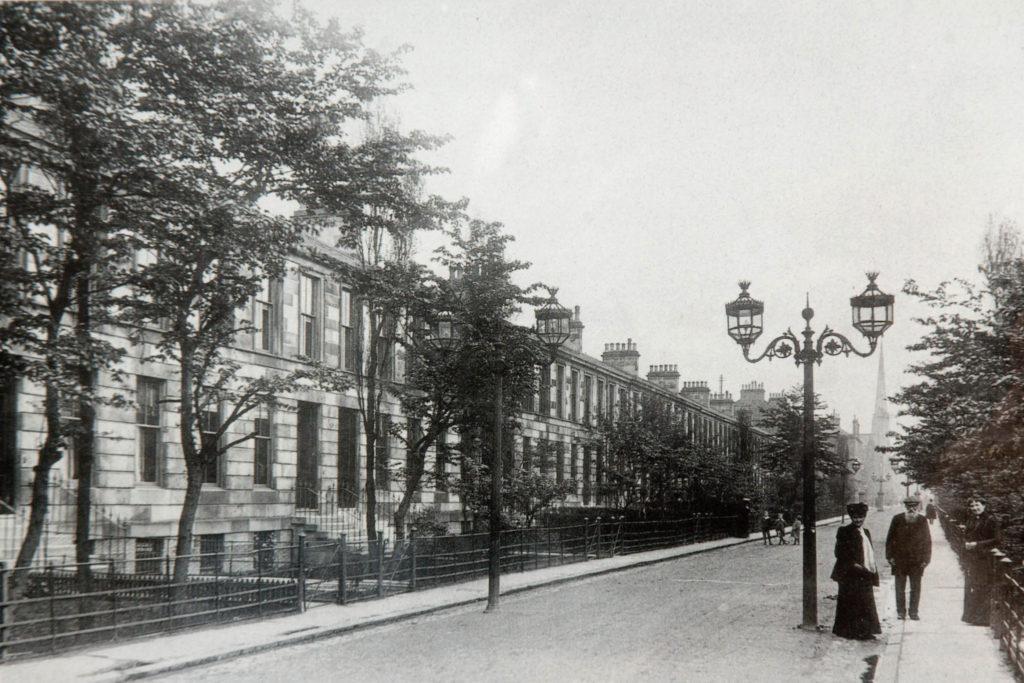 Regent Park Square in 1910