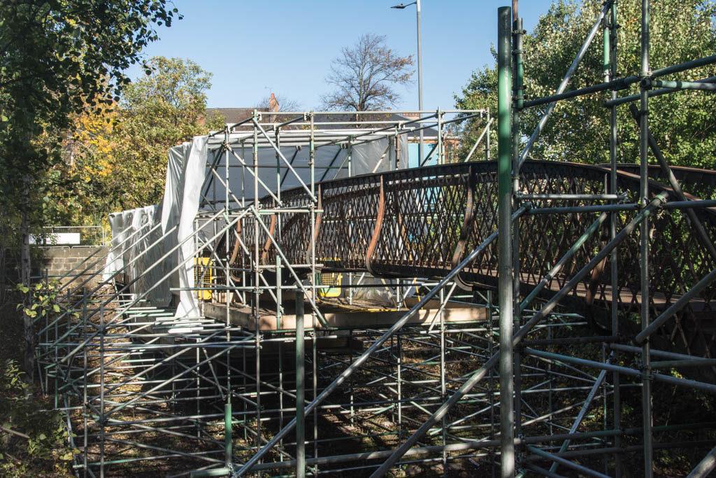 Footbridge restoration