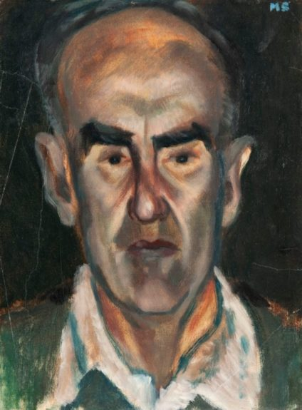 Fred Selby, self portrait