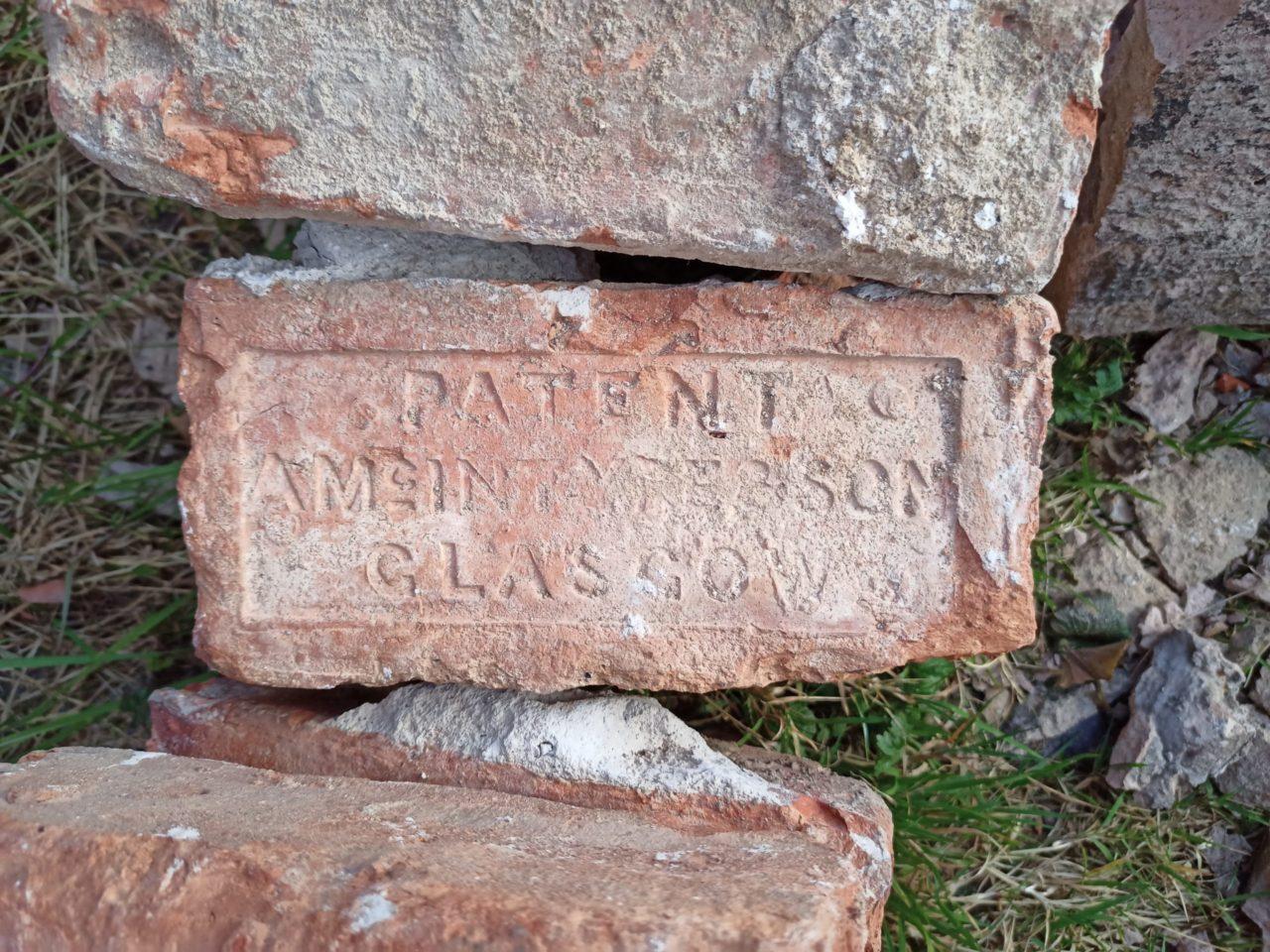 A McIntyre & Son brick