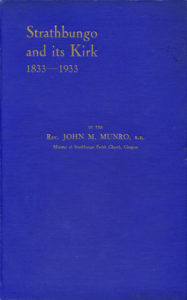 Cover, Strathbungo & its Kirk, 1833-1933