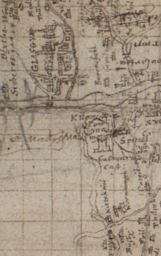 Timothy Pont, Lanarkshire ca. 1583-96