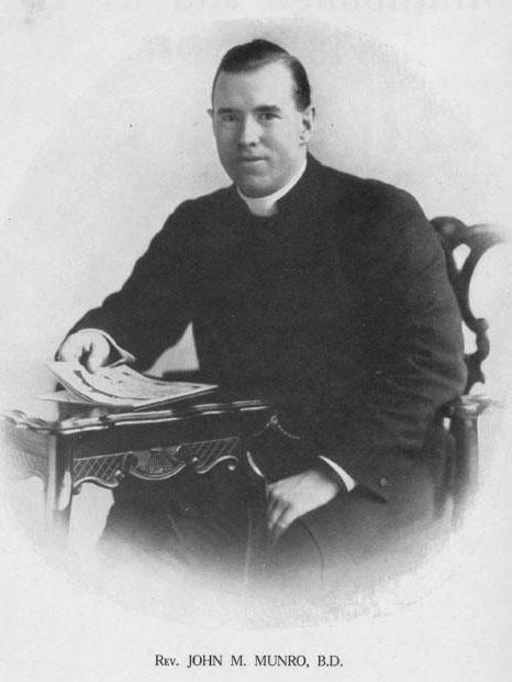 Rev John M Munro