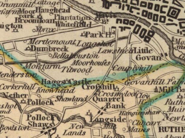 Southern Scotland. John Ainslie. 1800