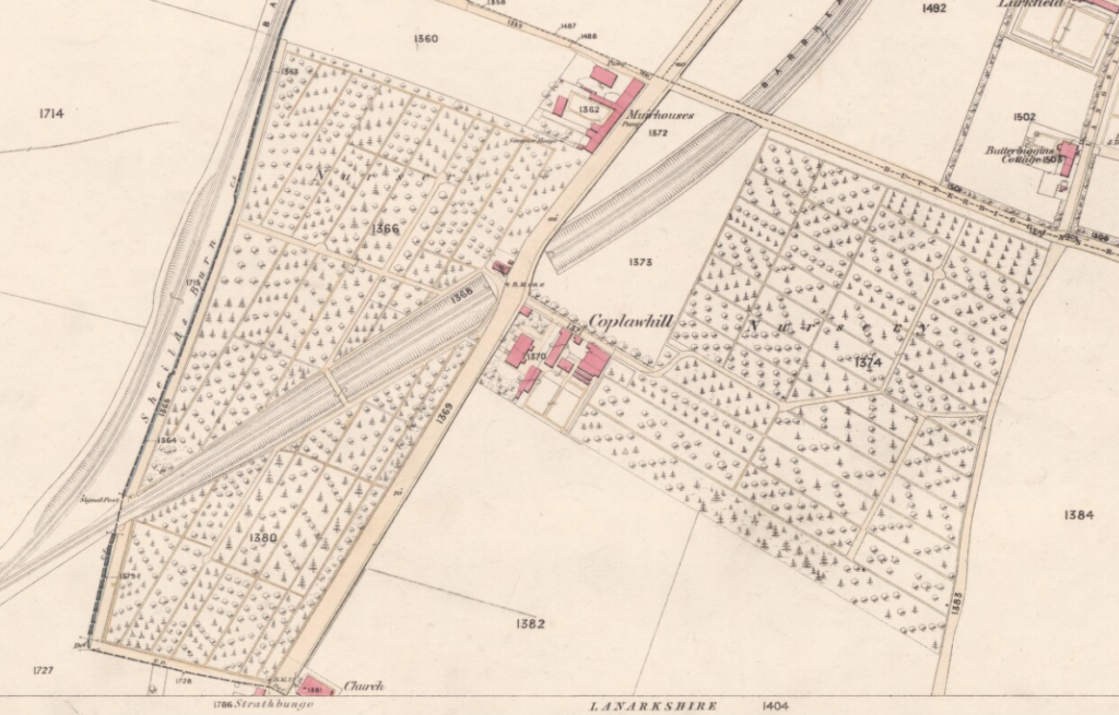 OS Map Coplawhill 1858