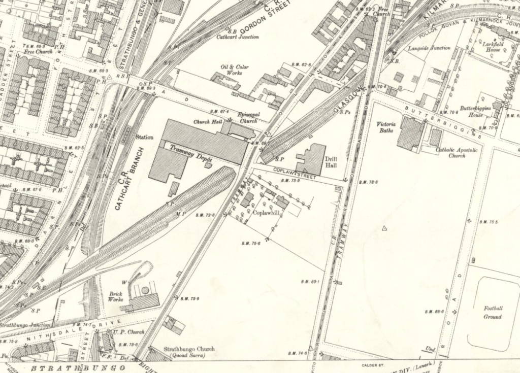 OS Map Coplawhill 1894