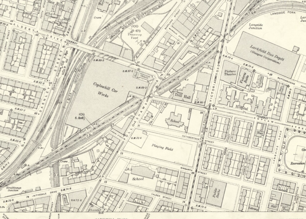 OS Map Coplawhill 1934
