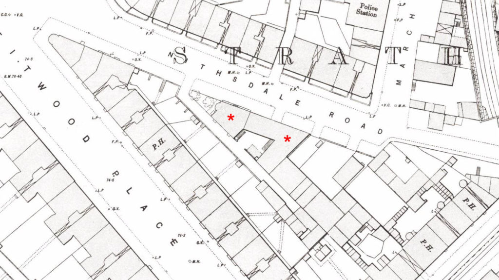Nithsdale Street, OS Map 1892-94