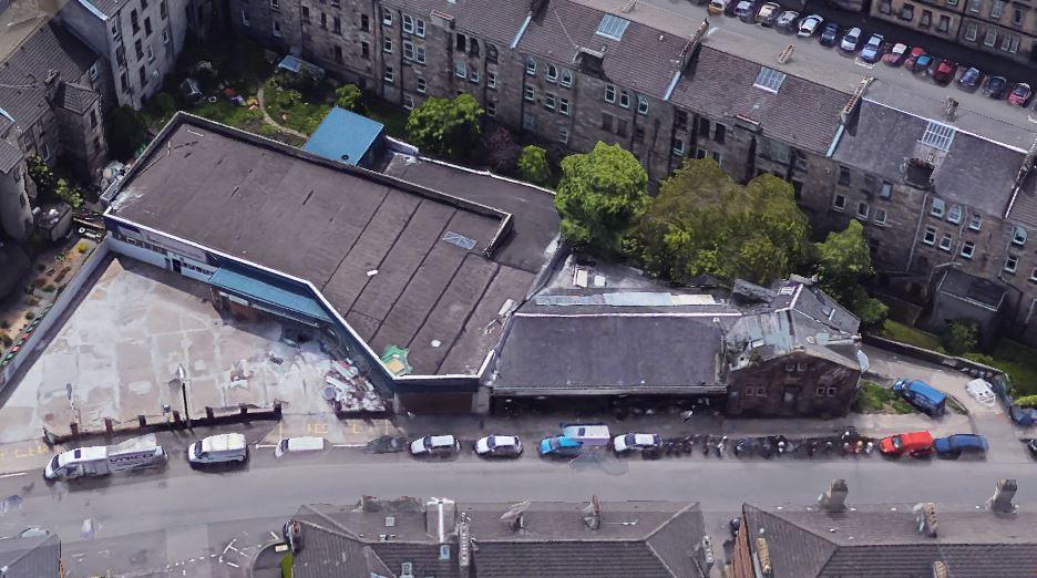 Nithsdale Street aerial